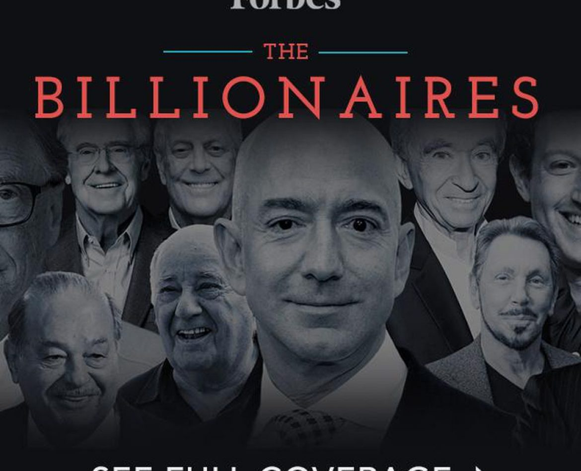 Billionaires 2018: Meet The Richest People On The Planet