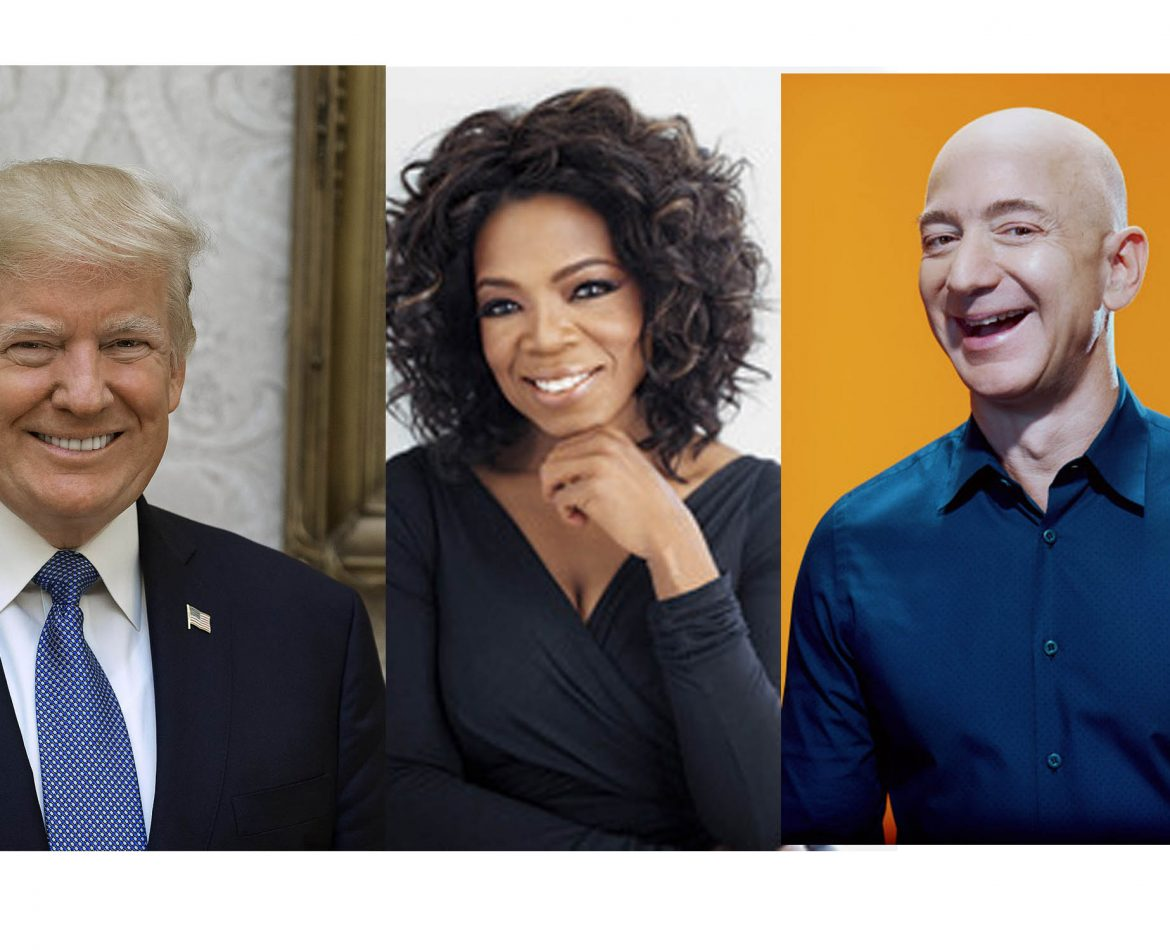 10 Marketing Lessons You Can Learn From Donald Trump, Oprah Winfery & Jeff Bezos